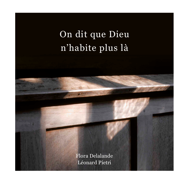 Couverture de 'On dit que Dieu n'habite plus là'